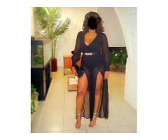 Layna belle Black sensuelle
