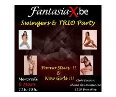 Fantasia-x Méga GangBang Vendredi 6 Mars 21h04h Bruxelles